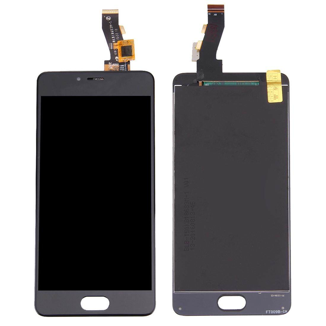 iPartsBuy Meizu M3s / Meilan 3s LCD Screen + Touch Screen Digitizer Assembly(Black)
