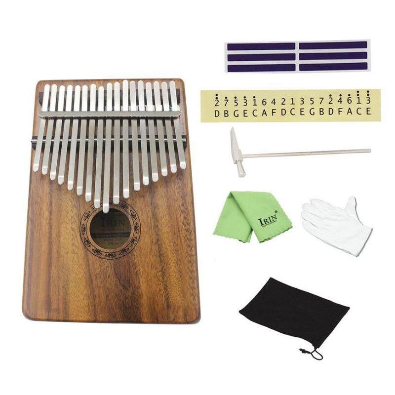 GOOD Natural 17 Keys Finger Thumb Pocket Piano Kalimba Mbira Thumb Piano Great Gift brown Acacia Mangium Malaysia