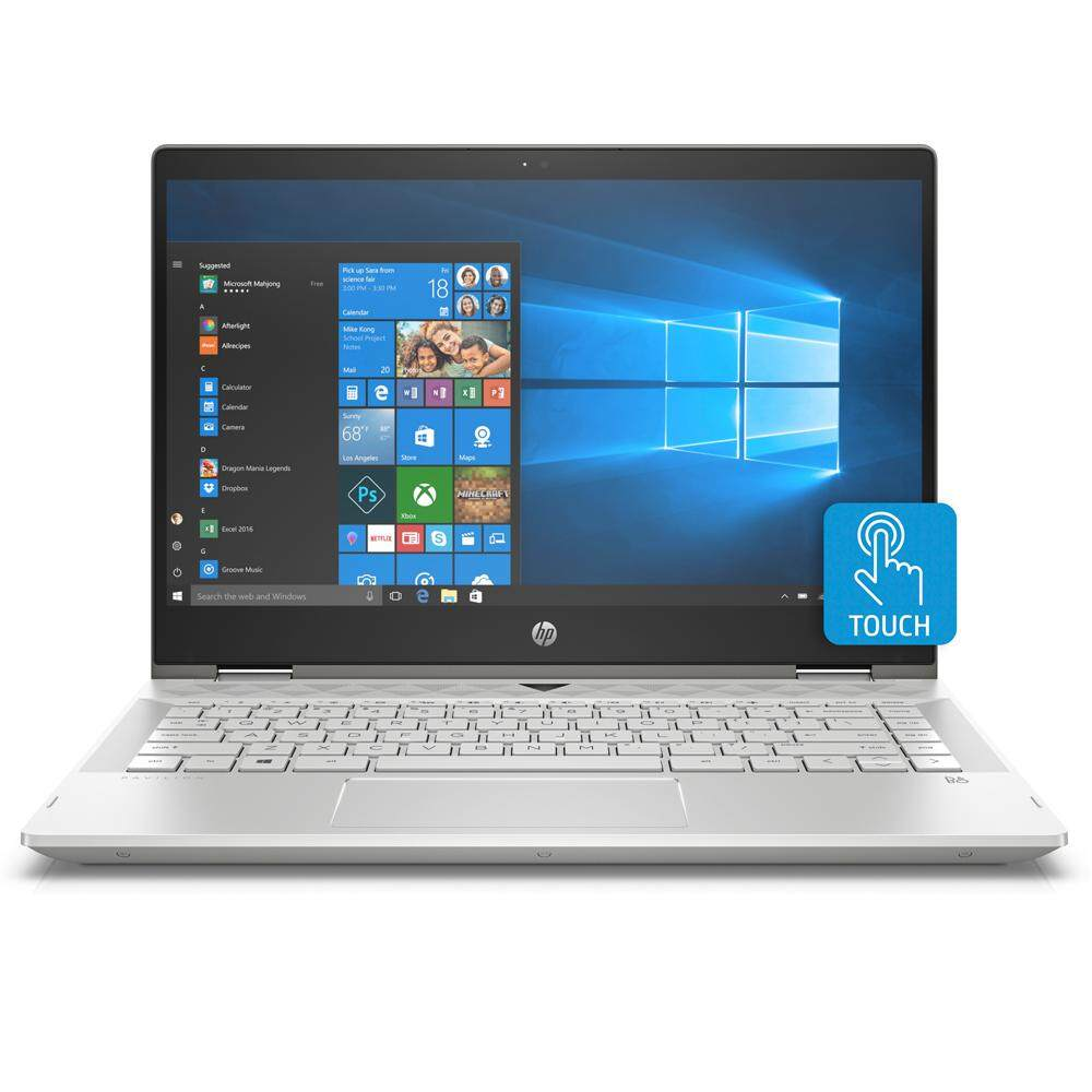 HP Pavilion x360 14-cd0033TX 14 FHD Touch Laptop Gold (i7-8550U, 4GB, 1TB+8GB, MX130 4GB, W10) Malaysia