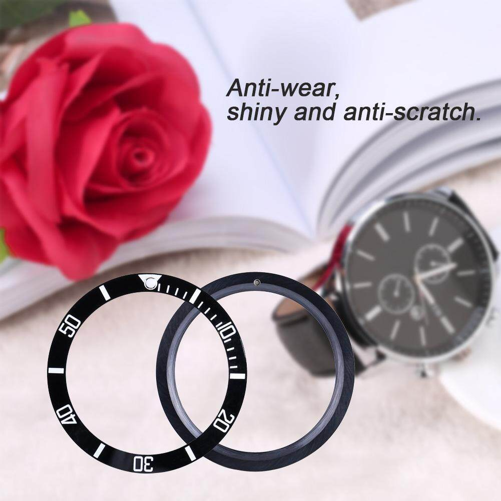 New Ceramic Watch Wristwatch Bezel Insert Loop Replacement Parts (Black) Malaysia