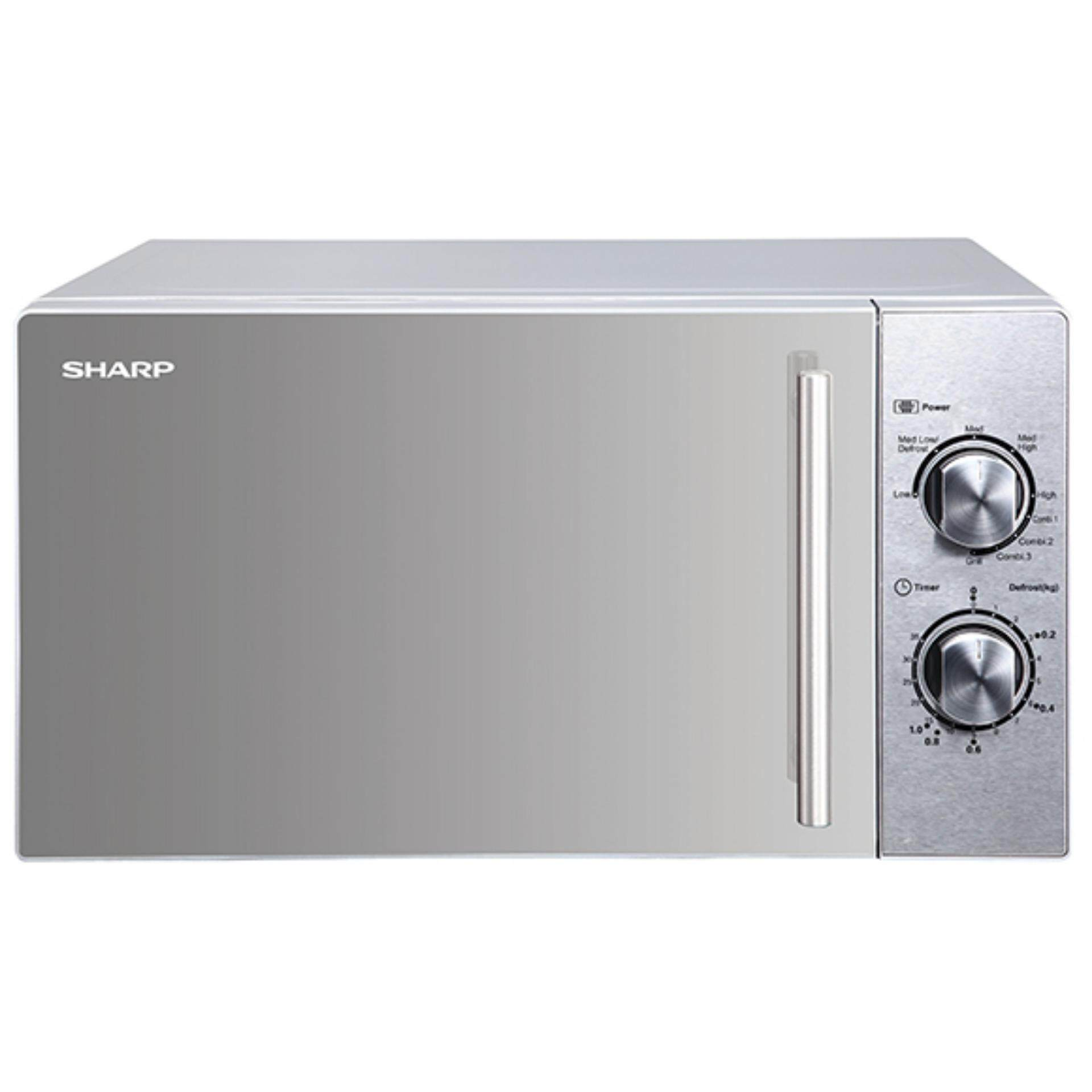Sharp 20l 800w 1000w Mechanical Grill Microwave R613cst
