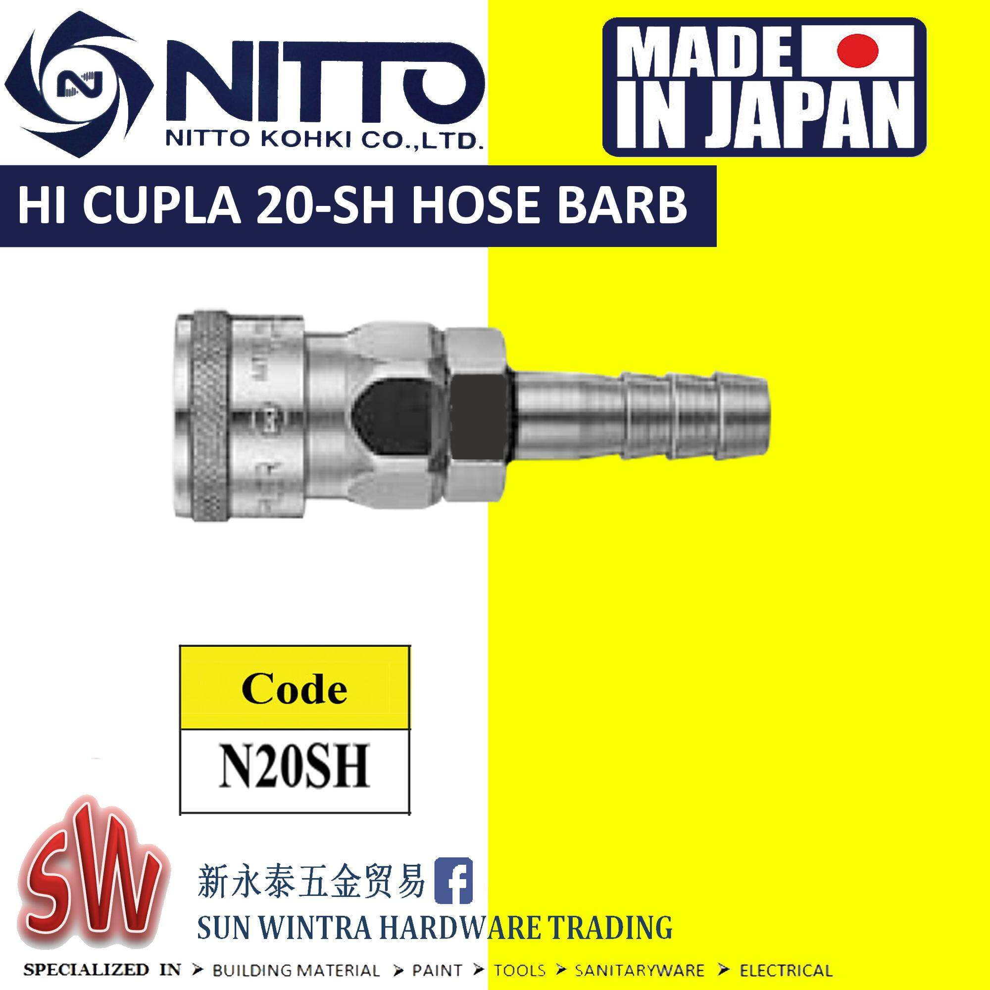 Nitto 20SH SH-TYPE Quick Air-Coupler (Made In Japan)