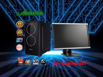 (DIY GAMING SET) INTEL CORE I5 2400 3.1 GHz / 4 GB DDR3 RAM / 256GB SSD + 250 GB SATA HDD / 24 LCD MONITER 1 Year Warranty