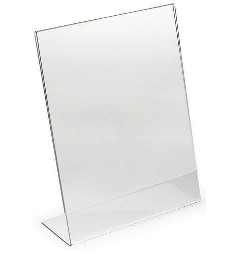 Acrylic Display Stand Special Size Paper Holder A022 By Signature Valley.