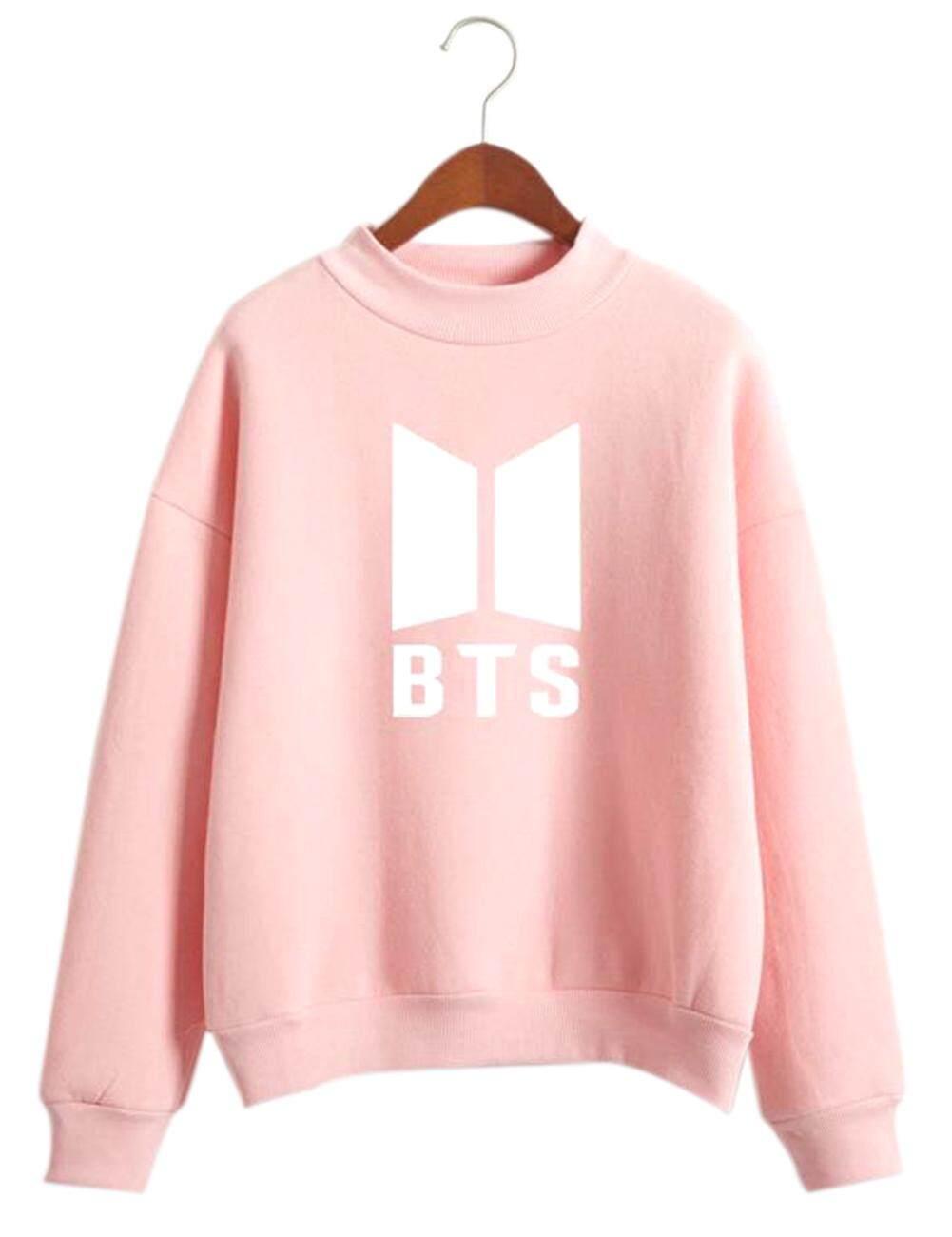 Womens Sweaters Cardigans Buy At Sweater Wanita Bts Unisex Letters Round Collar Fleece Lining Comfortshirt S Xl