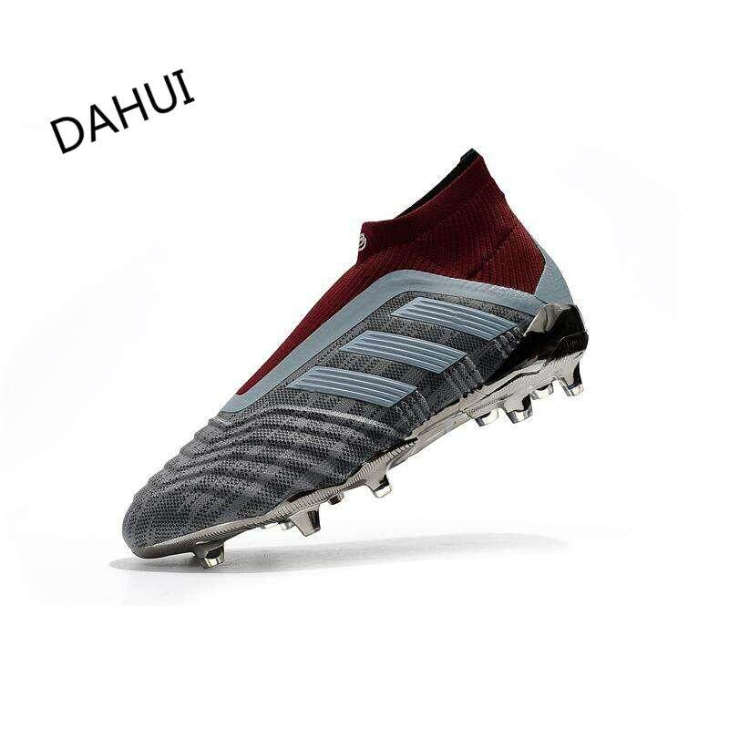 High Ankle Football Boots Superfly Original Falcons Knitted FG Nail Football  Shoes PP Adulto Men s Soccer f93cc4dcd