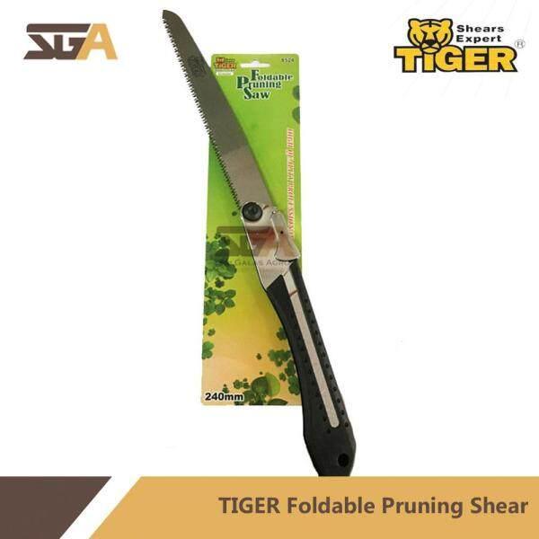 Tiger 8524 Foldable Pruning Saw 9.5 240mm Gergaji Pokok Bunga