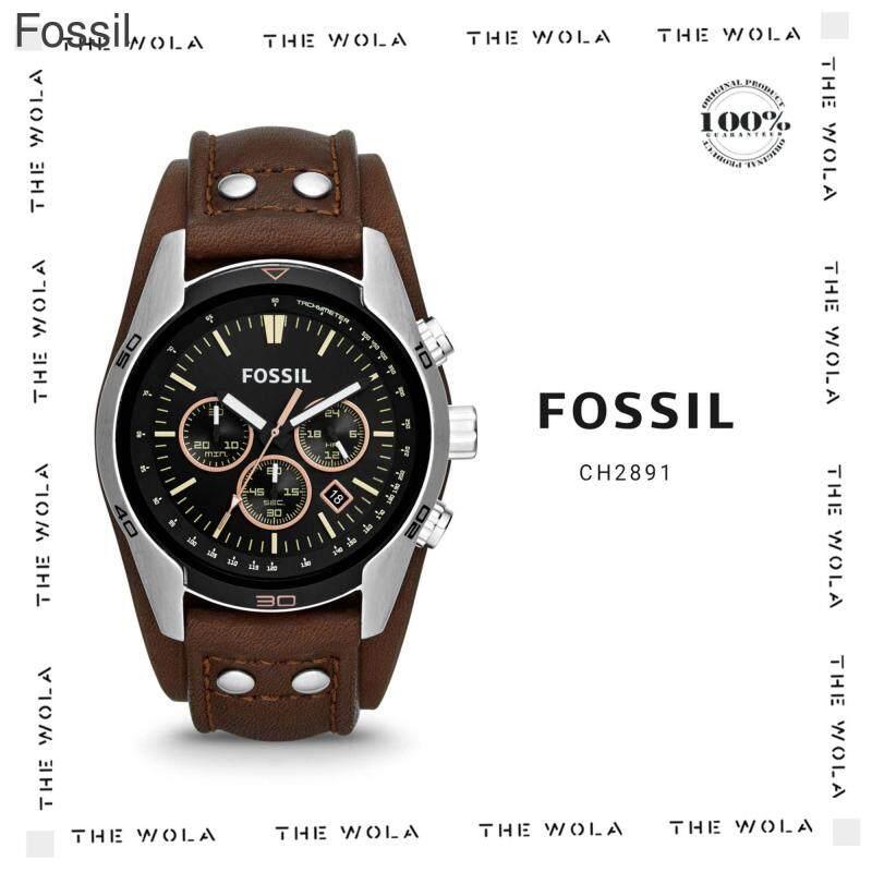 FOSSIL CASUAL MEN WATCH CH2891 Original & Genuine (2 Years Warranty) Malaysia