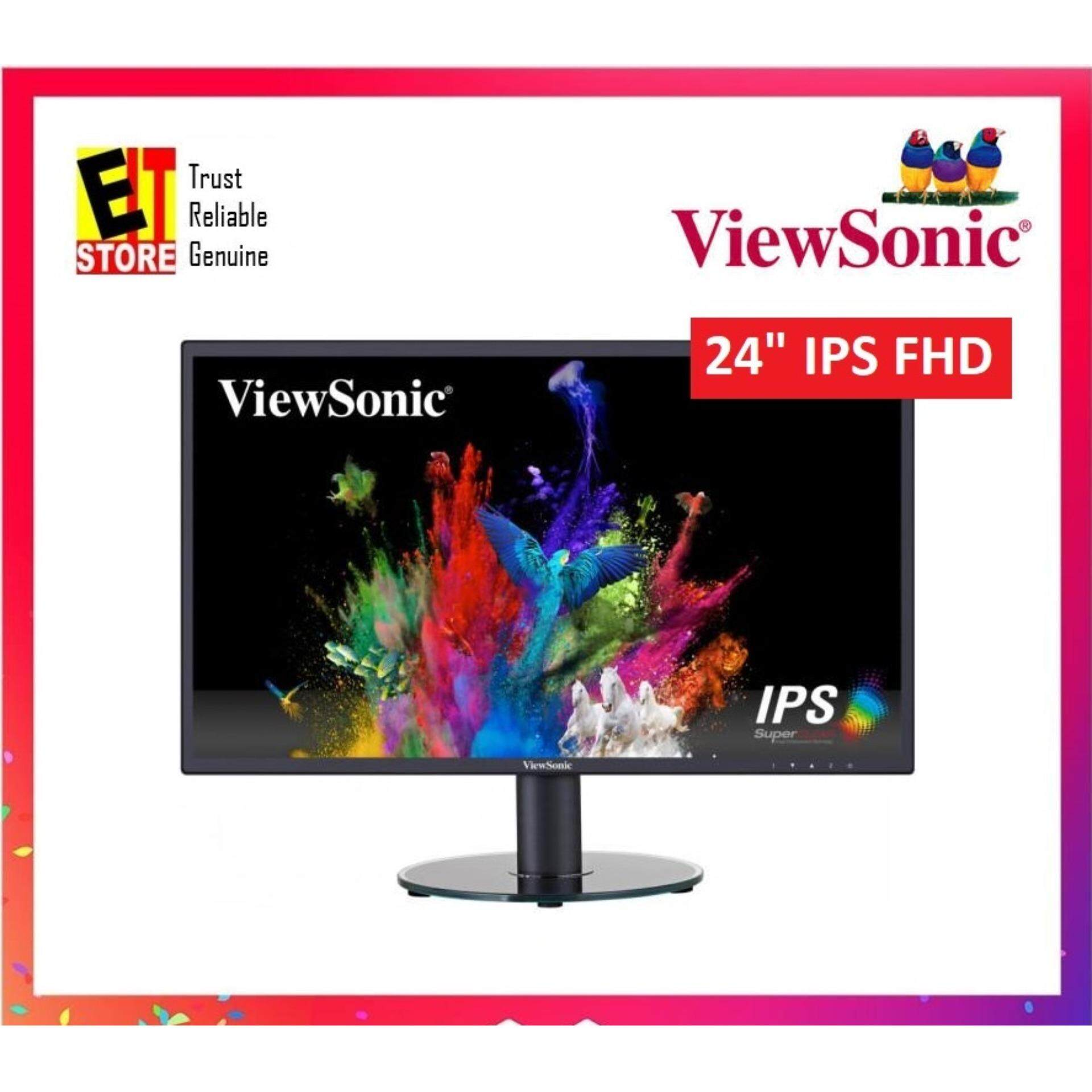 VIEWSONIC VA2419-SH 24 FULL HD SuperClear® IPS LED MONITOR Malaysia