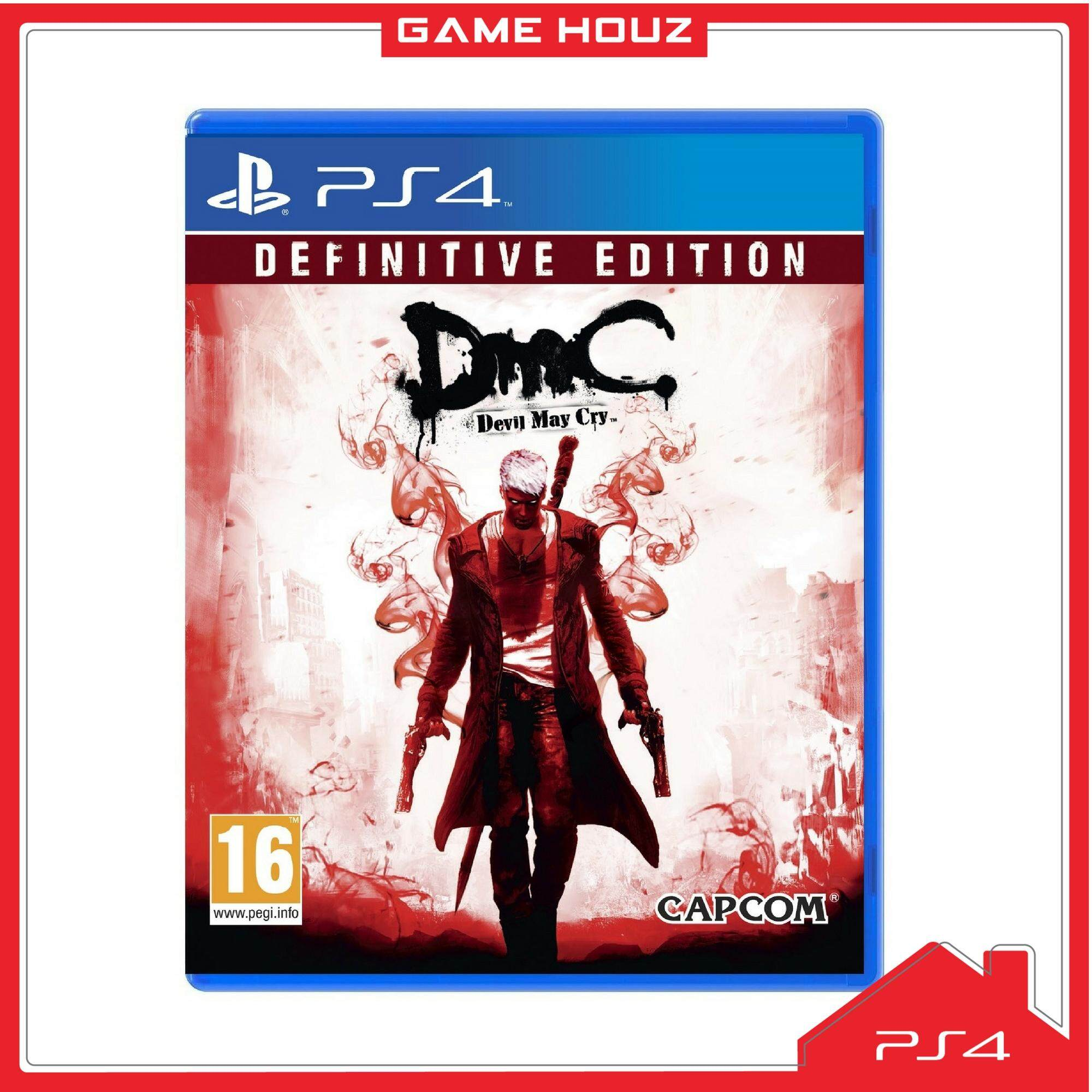 Capcom Games Buy Game On Lazada Malaysia Free Shipping Switch Resident Evil Revelation English Us Ps4 Dmc Devil May Cry Definitive Edition R2 Eng