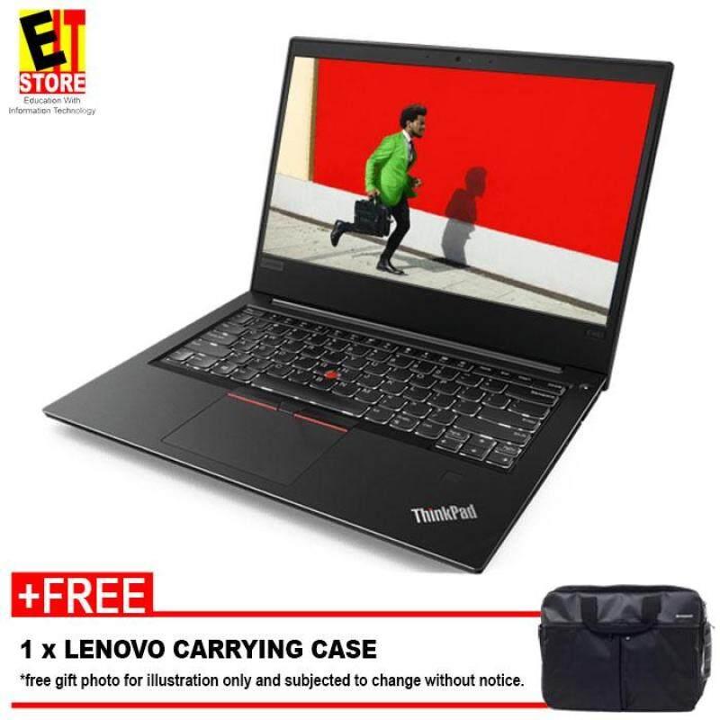 LENOVO THINKPAD E480 20KNS00900 (i7-8550U/8GB/1TB/2GB RX 550/14 HD/W10/1YR/) + CASE Malaysia