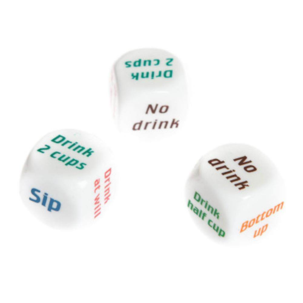 Bzy 1pcs Drinking Wine Mora Dice Adult Bar Party Pub Drinking Decider Dice Funny Gaming Toys By Beautyzy.