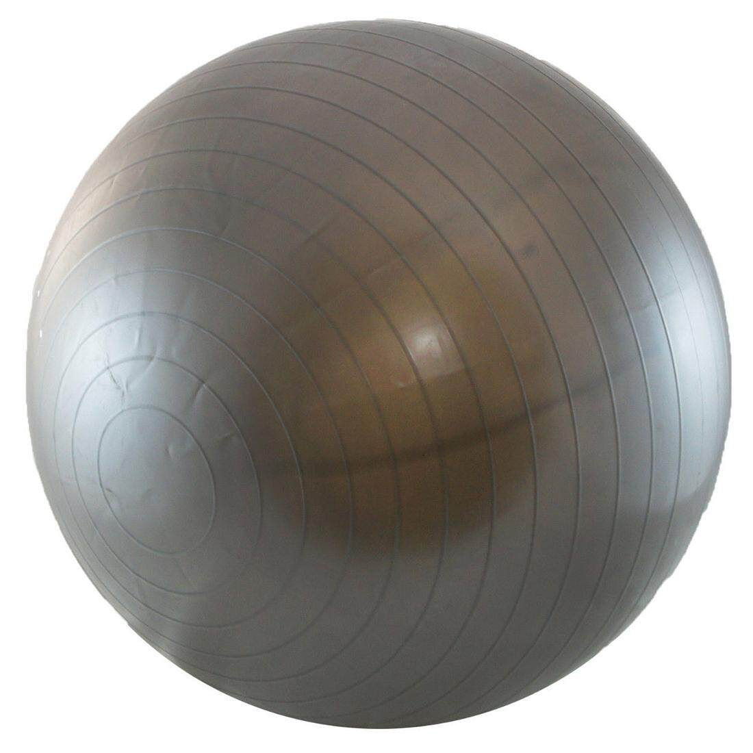Balancing Stability Ball for Yoga Pilates Anti-Burst + Air Pump Gray 55 cm e2f3106b435e6