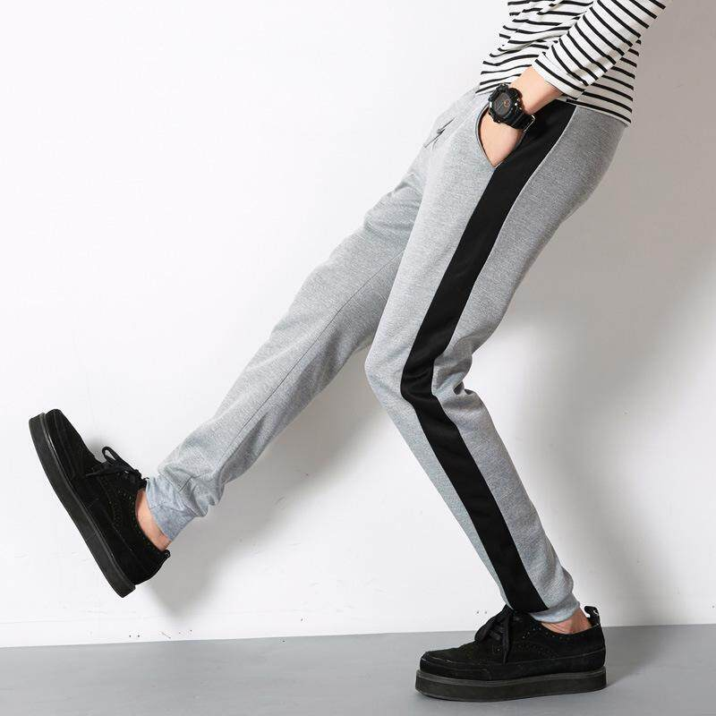 Betrare Mens Sports Long Pants Stripped Men Jogger Pants For Students Casual Loose Track Pants For Fitness By Betrare International Co.ltd.