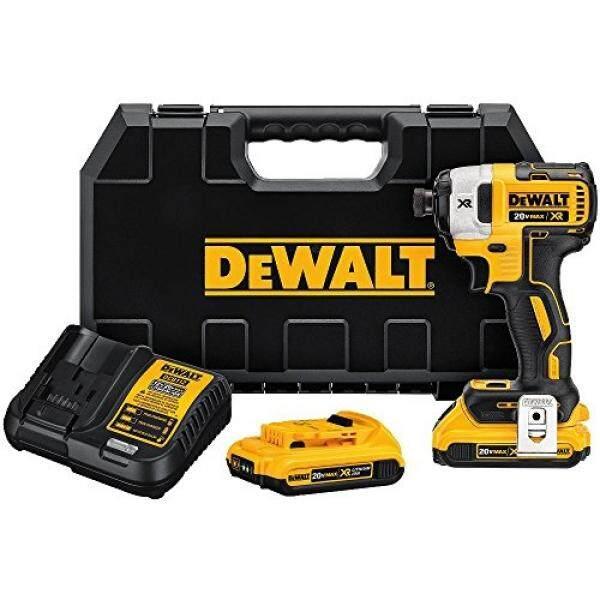 DEWALT DCF887D2 20V MAX XR Li-ion 2.0 Ah Brushless 0.25 3-Speed Impact Driver Kit