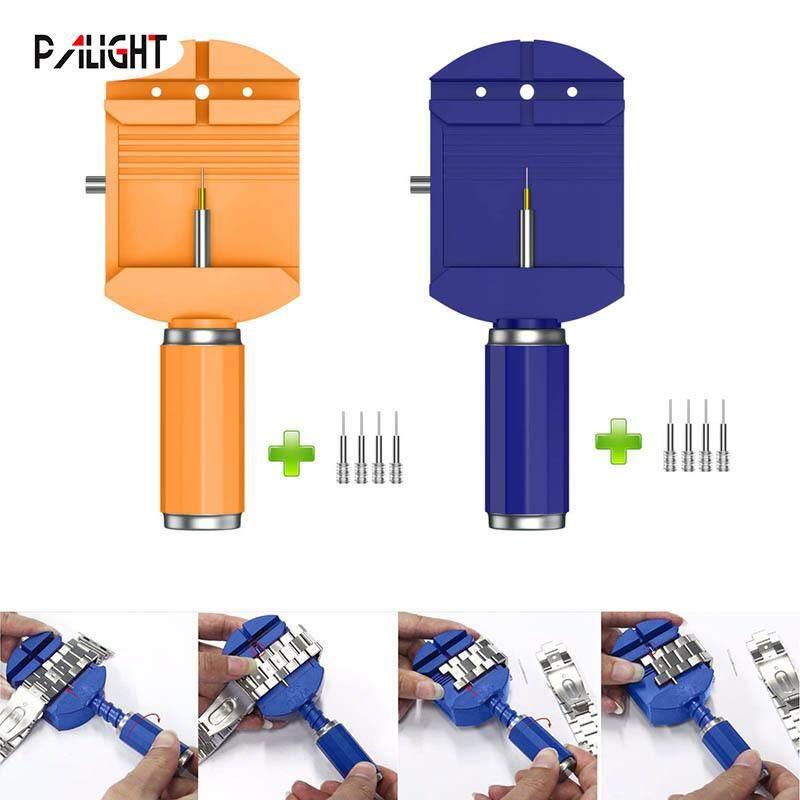 PAlight Watch Band Remover Spring Bars Strap Link Adjuster Opener Repair Tools Kit+4 Pins Malaysia