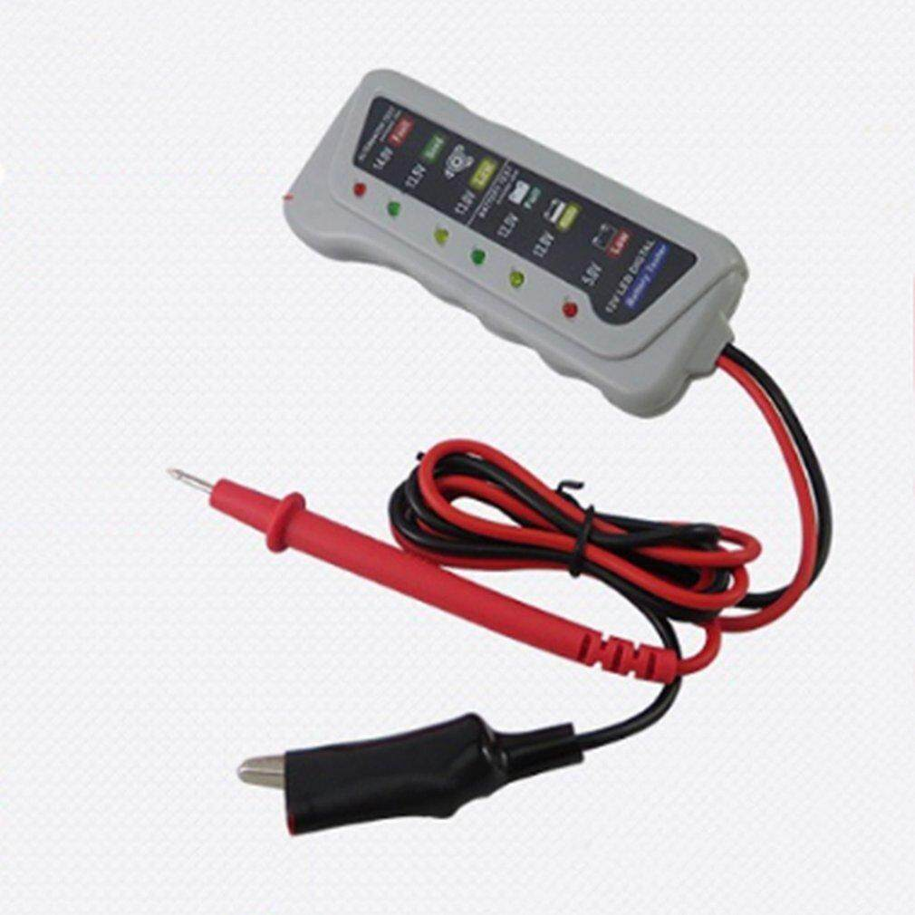 Battery Testers Buy At Best Price In Malaysia Led Circuit Tester For Automotive Household Use 12v Car Oh Digital Charging System Analyzer With Display Cars Black