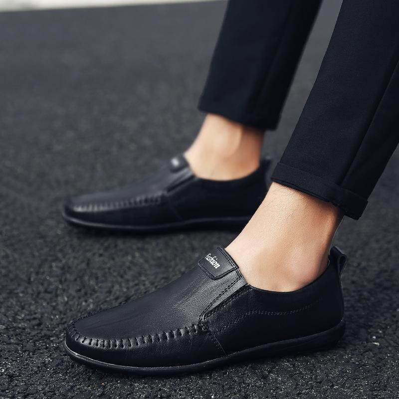 The New Spring And Summer 2019 Driving Doug Lazy Slip-On Shoes Business Casual Shoes Joker Wear Mens Shoes Of England By Jlchen.