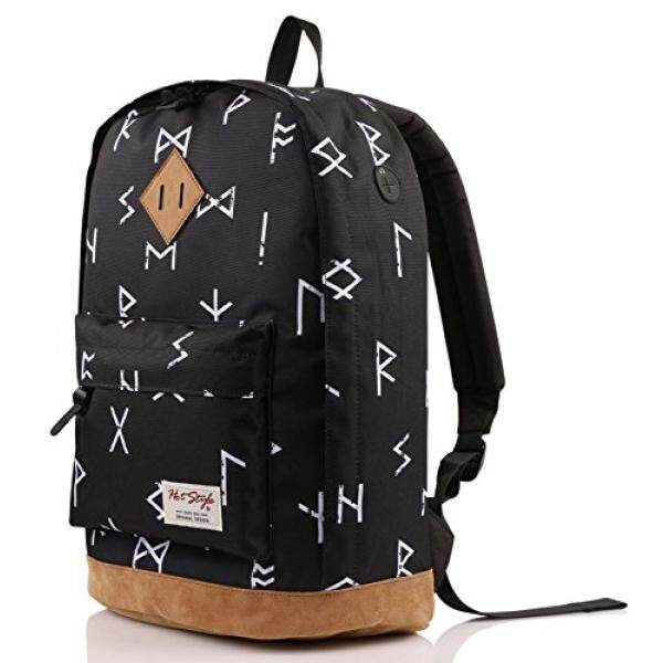 936Plus College School Backpack Travel Rucksack  Fits 15.6 Laptop  18x12x6  Ethnic Malaysia
