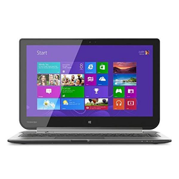 Toshiba W35DT-A3300 Satellite Click 2-in-1 13-Inch Touch-Screen Laptop (4GB Memory, 500GB Hard Drive) Ultimate Silver Malaysia