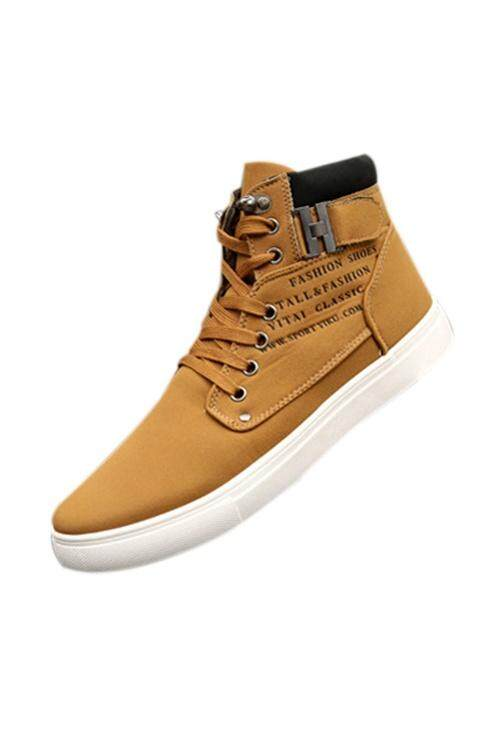 Men s Sneakers Comfortable Casual Shoes Canvas boots fashion winter Size  6.5-10 (Intl) 6c679a11ce