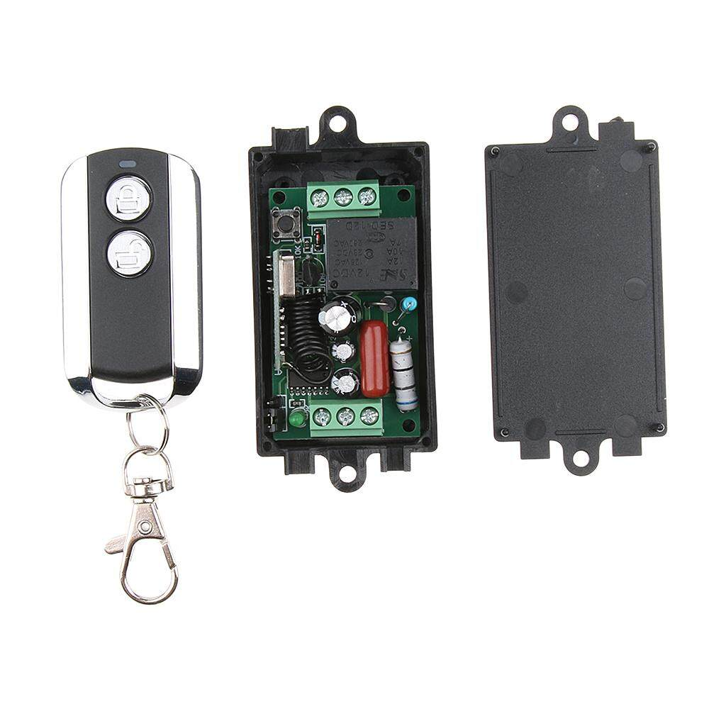 Miracle Shining AC180-240V Wireless Remote Control Switch Relay Receiver&Transmitter 433Mhz