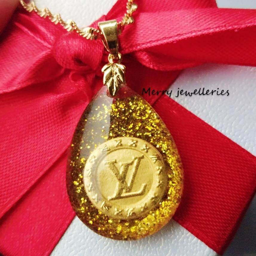 Merry Jewelleries 999 Pendant Blink Lv (gold) By Merry Jewelleries.