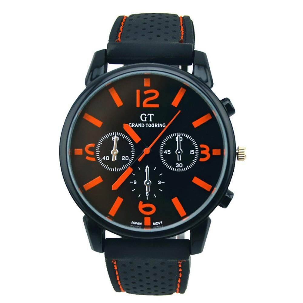 Men Fashion Stainless Steel Sport Cool Quartz Hours Wrist Analog Watch OR radocie Malaysia
