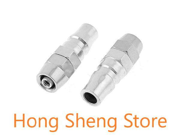 PP20 1/4 Pneumatic Air Compressor Hose Quick Coupler Plug Fitting