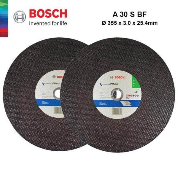 BOSCH 1pcs Steel Metal Cutting Disc For Economy (355mm x 3.0mm x 25.4 mm) - 2608602751 - 3165140599627