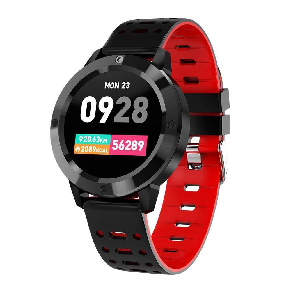 Wincoo Color Screen Smart Bracelet Blood Pressure Heart Rate Waterproof Bluetooth Round Screen Sport Watch Malaysia