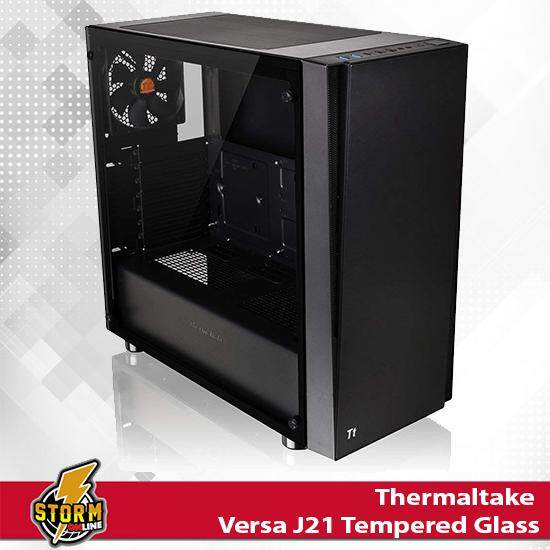 Thermaltake Versa J21 Tempered Glass ATX Vertical GPU Modular Gaming Mid Tower Computer Case CA-1K1-00M1WN-00 Malaysia