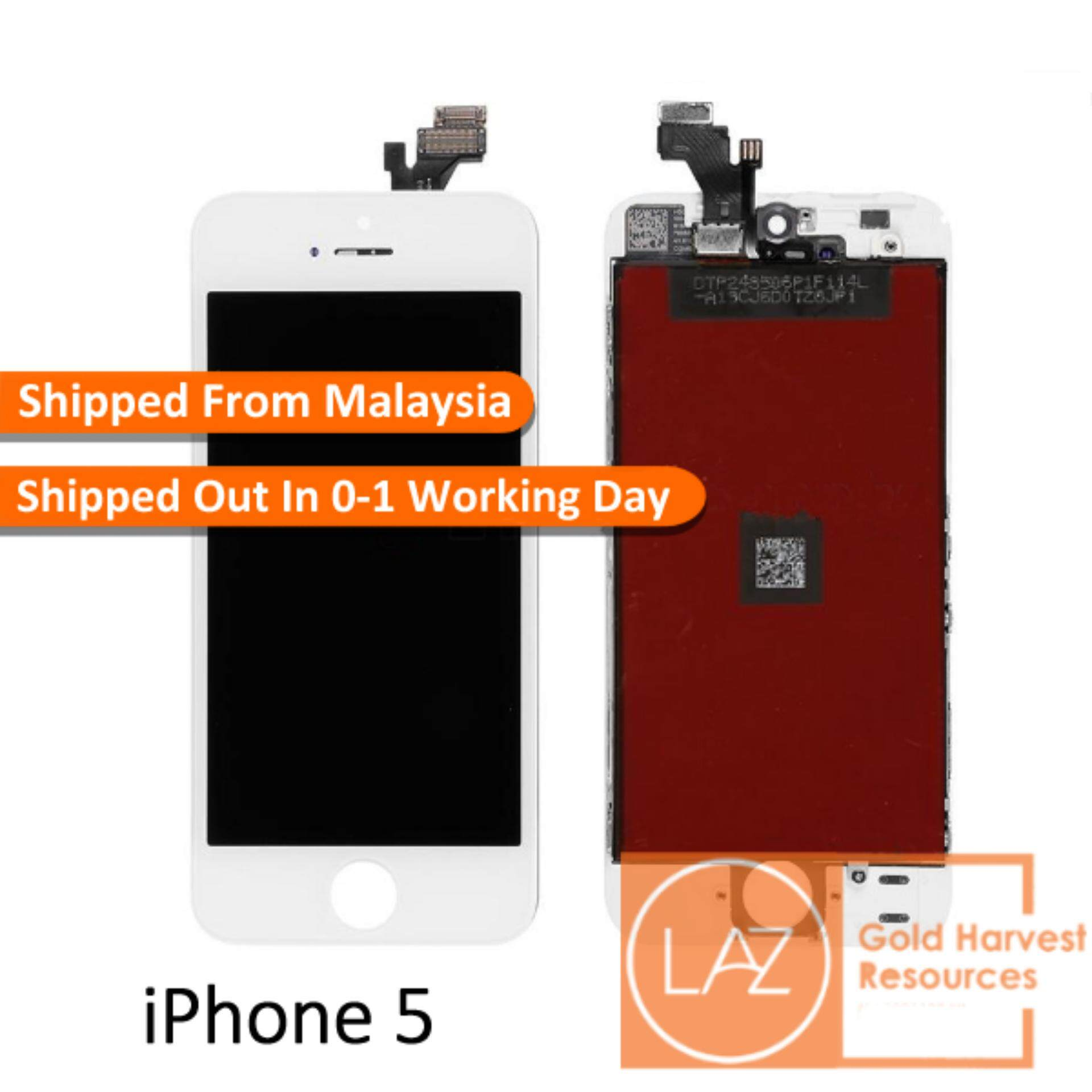 Replacement Parts For The Best Prices In Malaysia Iphone 4 Screws Diagram 5 Lcd Display Touch Screen Digitizer