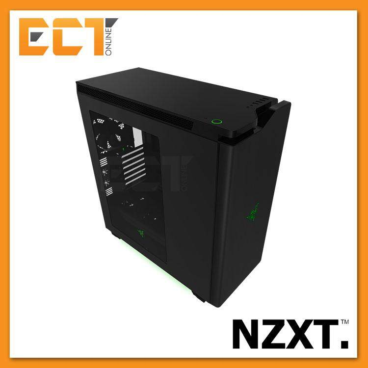 NZXT H440 ATX Mid Tower Gaming Case / Chassis Designed by Razer Malaysia