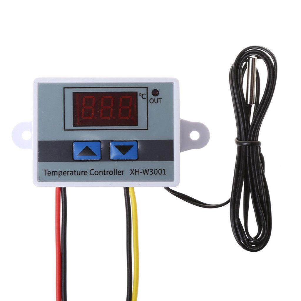 MG Digital 220V LED Microcomputer Temperature Controller 10A Thermostat Control Switch Probe
