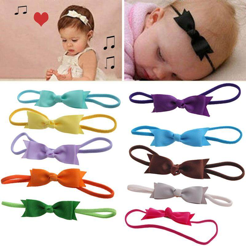Korea Fabric Tie Knot Hair Ands Embroidery Hairband Flower Crown Headbands For Girls Hair Bows Hair Accessories D Girl's Hair Accessories Apparel Accessories