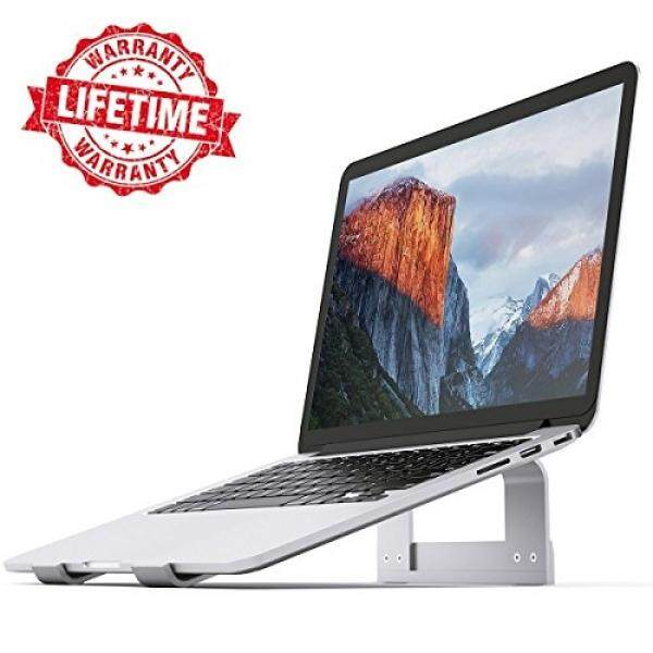 Laptop Stand iQunix Aluminum Ventilated Stand UPDATE VERSION - Ergonomic Riser Portable Holder for Macbook Pro, All Notebooks,Silver Malaysia