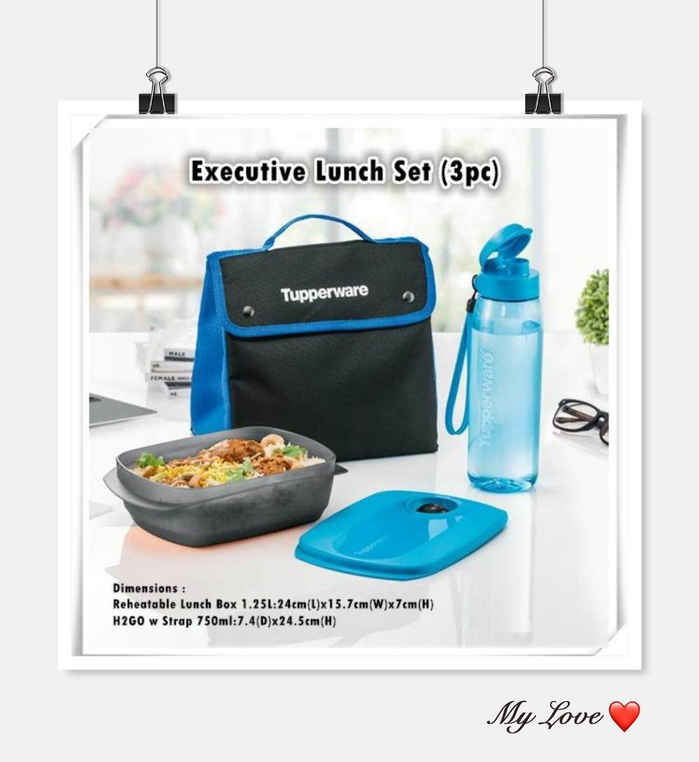Tupperware Malaysia Products At Best Price Lazada Sweet Blossom Set 3pcs Executive Lunch With Pouch