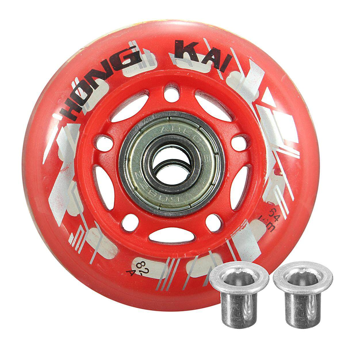 Replacement Skate Wheel Skating Inline Skate Shoes 64mm Dia 8mm By Audew.
