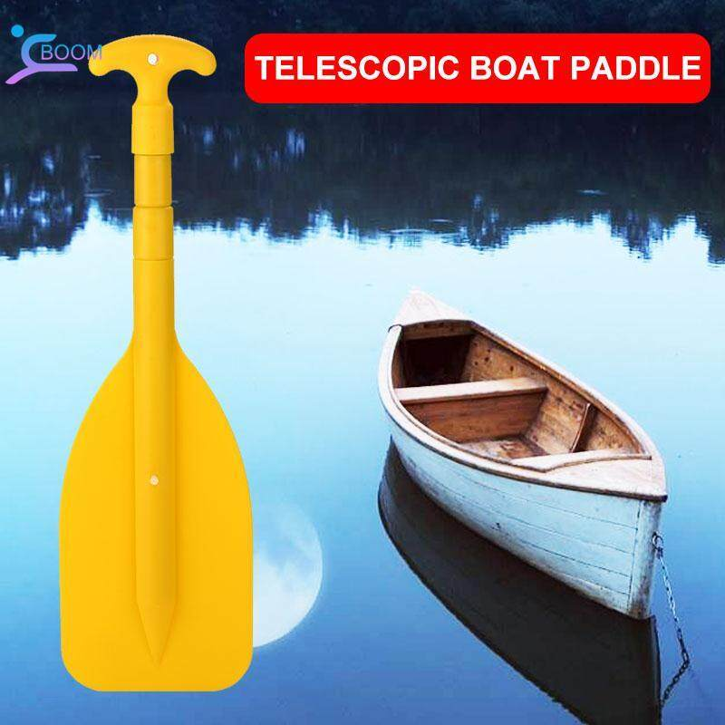 Boom Telescopic Paddle Boat Paddle Durable Pvc Yellow Boating Canoe By Boom Store Shop.