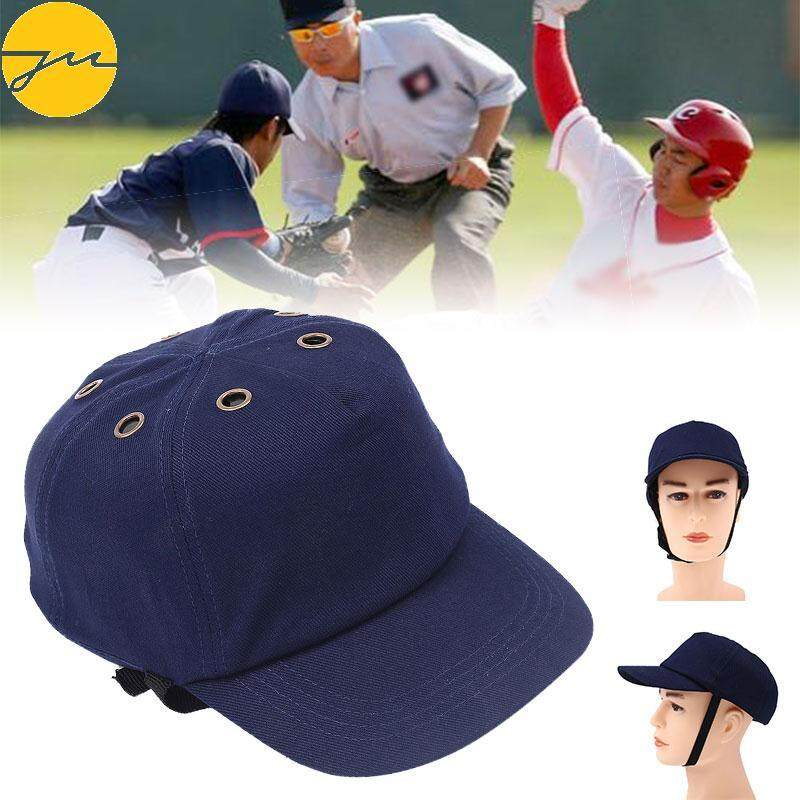 Navy Safety Anti-Smashing Work Hard Hat Bump Cap Protection Baseball Cap