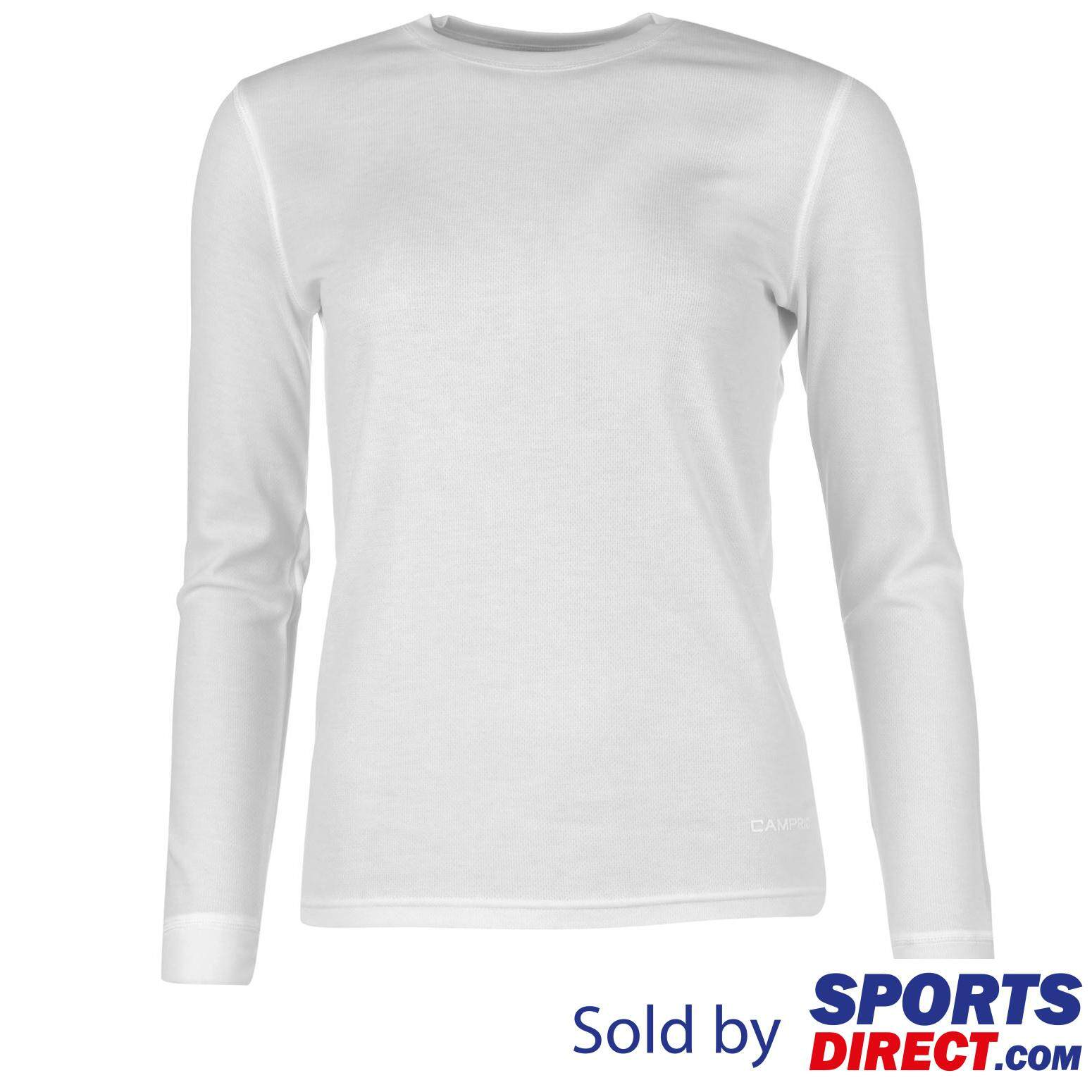 Campri Womens Thermal Top (white) By Sports Direct Mst Sdn Bhd.