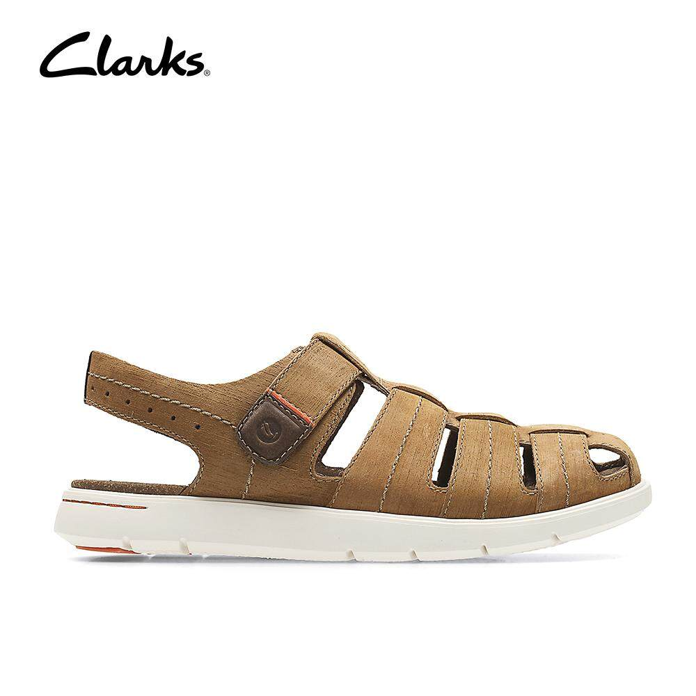 8314627e4 Clarks Mens Casual Unwilmore Bay Brown Comfort Stylish Sandals
