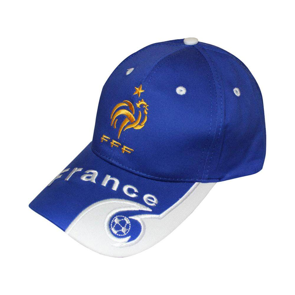 Sunyoo-2018 Russia World Cup Football Fans Hats Headband With Colorful National Flag Headwear Baseball Hat-French Blue By Sunyoo.