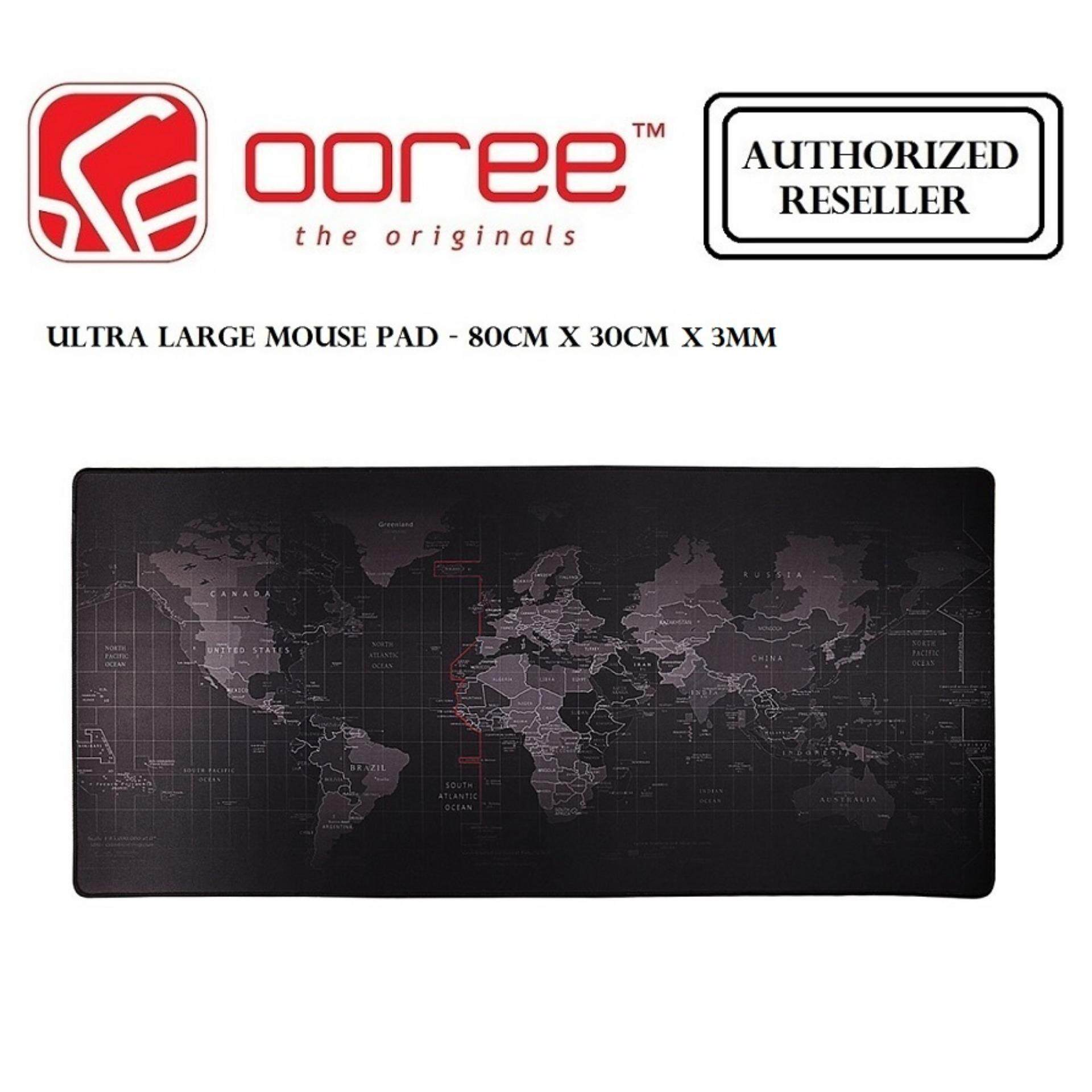 PREMIUM ANTI SLIP ULTRA LARGE GAMING MOUSE PAD RUBBER SOFT TEXTILE 3MM THICKNESS - 80CM X 30CM x 3MM Malaysia