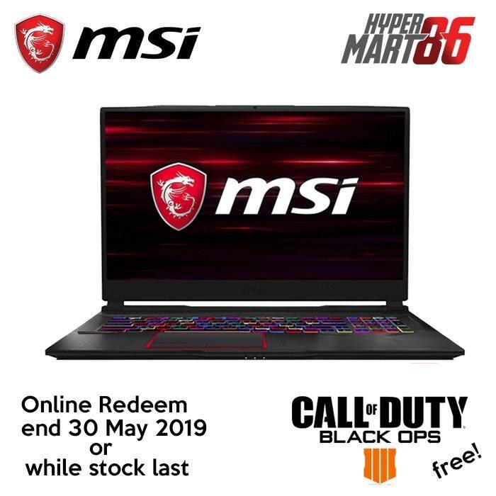 MSI GE75 8RE-021MY Raider (17.3inch/Intel I7/16GB/1TB+256GB SSD/GTX1060 6GB) Malaysia