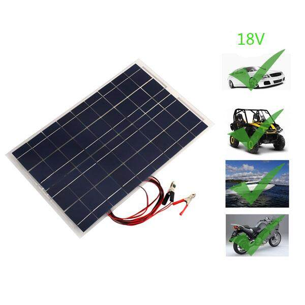 Car Solar Cell Panel High Power 18v Polycrystalline Battery By H&c Ebiz.