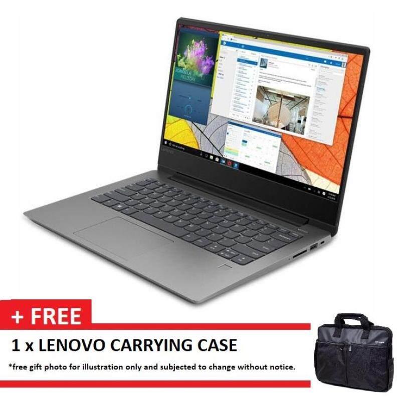 LENOVO IDEAPAD 330S-14IKB 81F400NYMJ GREY (I3-7020U/4GB/1TB/14/INTEL/W10/1YR) + CASE Malaysia