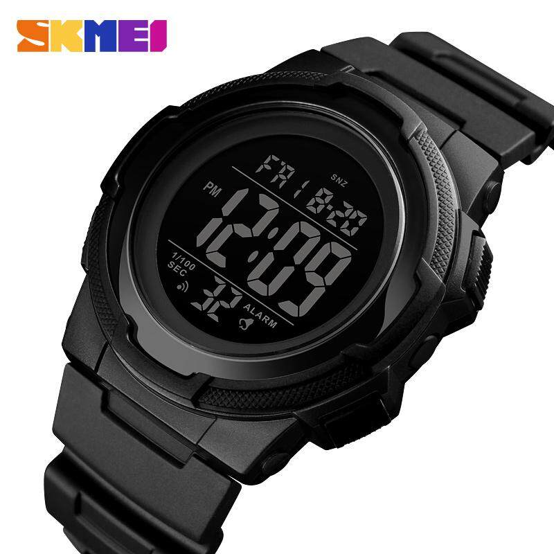 SKMEI New Men Sports Watches Digital Waterproof Watch Countdown Military Wristwatches Male Clock Jam tangan lelaki 1423 For Man Malaysia