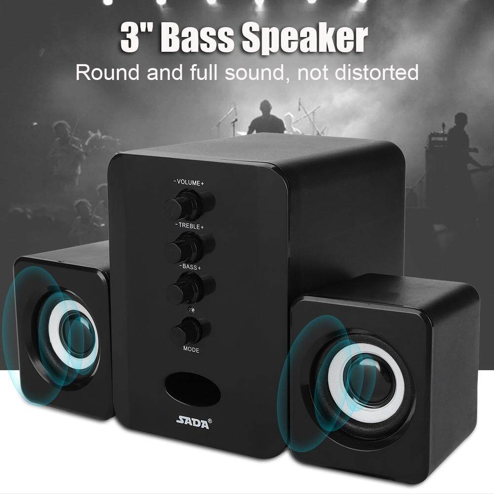 WeekW Bluetooth Speaker USB Powered 5V 2.1 Stereo Bass for Pad/Tablet/Phone/Laptio Malaysia